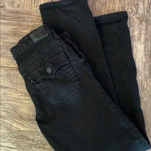 TRUE RELIGION big boys black jeans